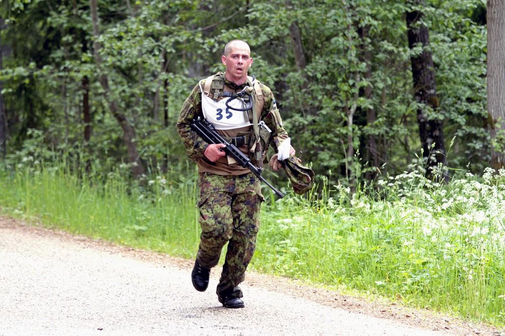 Kokku soovis vanemallohvitseride kursuse 60 kohale kandideerida 91 kaitseväelast