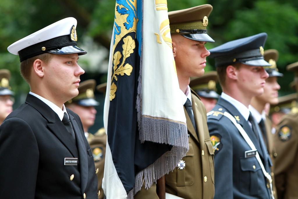Kõrgem Sõjakool võttis vastu 85 uut kadetti.