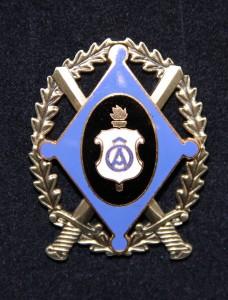 Nooremstaabiohvitseride kursuse märk