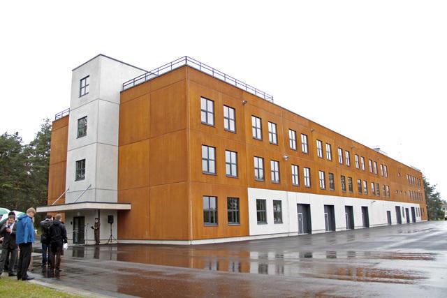 Väljaõpe toimub uues Lahingukooli hoones Taara linnakus. Foto: Mathis Bogens
