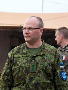 Koostöötegevustes esindab KVÜÕA-d kolonelleitnant Sten Allik. Foto: nooremleitnant Kristel Maasikmets