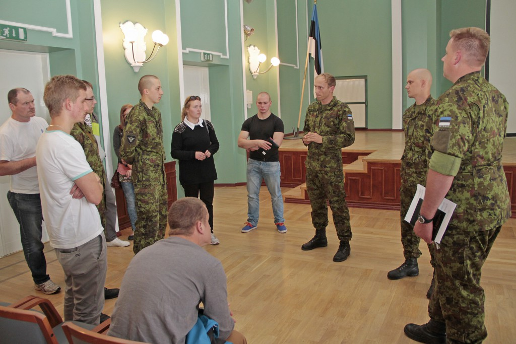 Sõjakool korraldab sisseastujaile infopäeva