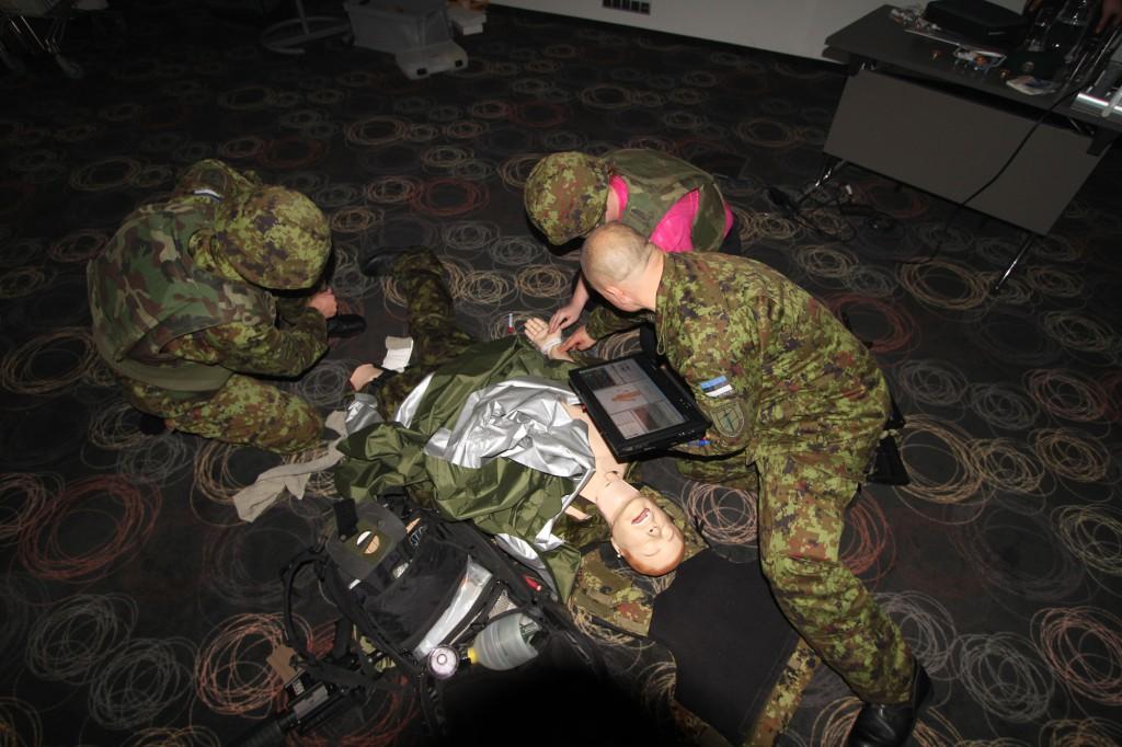 Traumahaige simulatsiooni töötuba. Foto: Ave Eerma