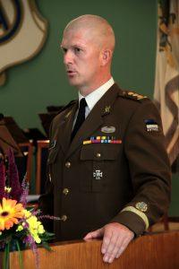 Kaitseväe Ühendatud Õppeasutuste Ülem kolonel Martin Herem. Foto: Lauri Rikas