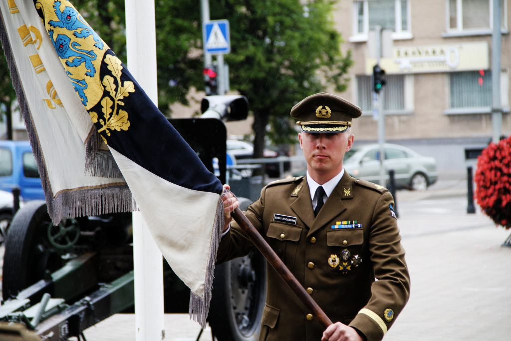 Major Erkki Roosnurm. Foto: Annett Kreitsman