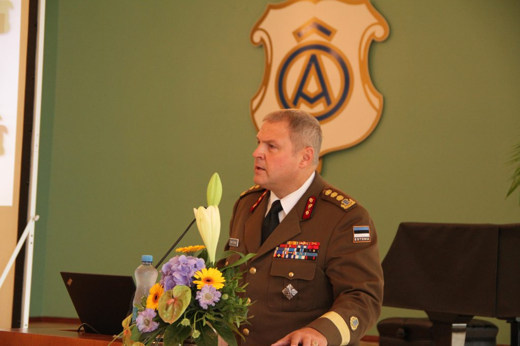 Kindralleitnant Riho Terras. Foto: Annett Kreitsman
